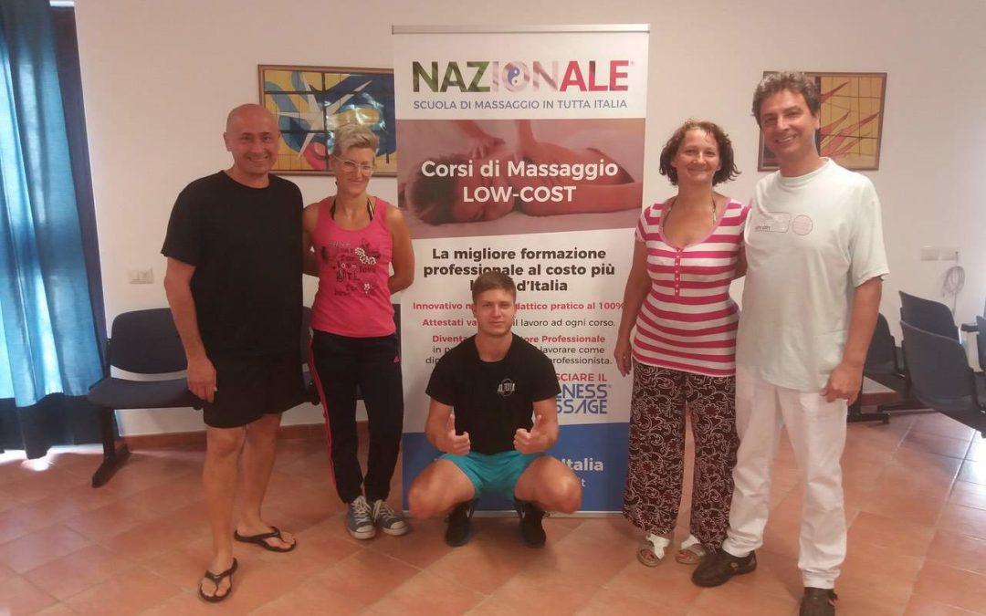 Massaggio Base a Roma – Corso del 01-02.09.2018
