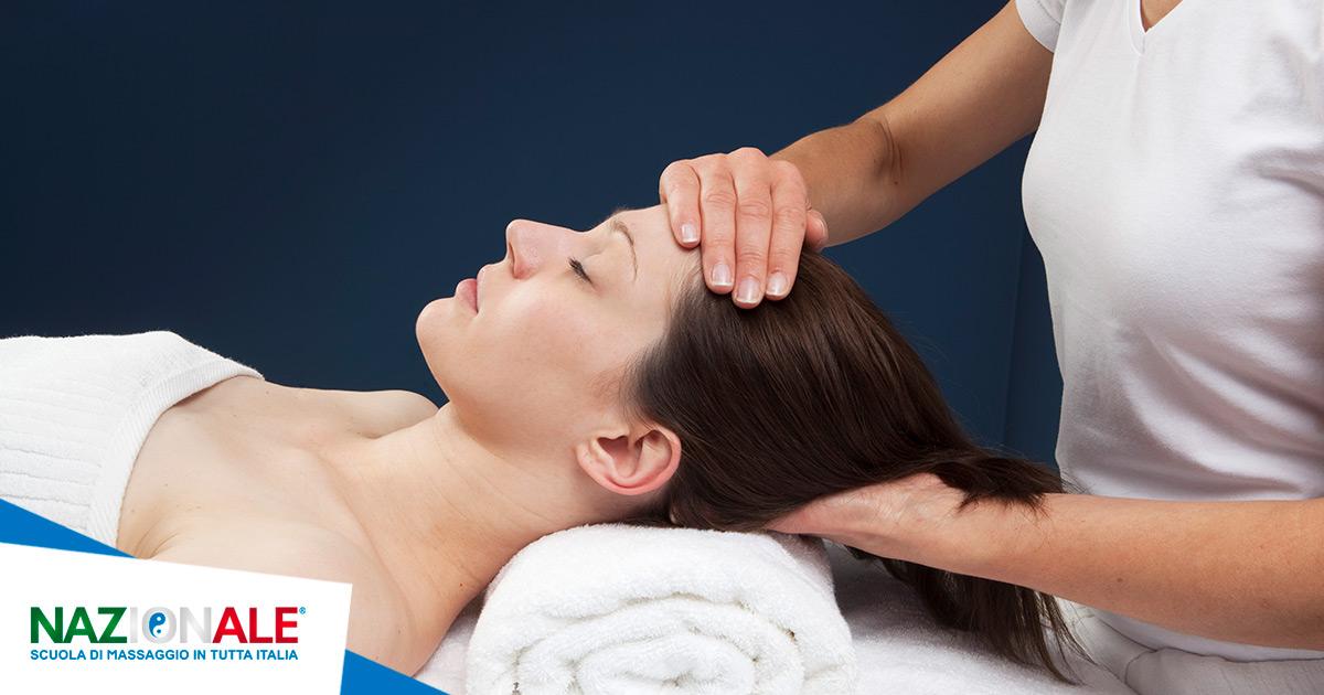 i benefici del massaggio cranio sacrale
